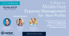 expense management for nonprofits