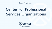Center expense management