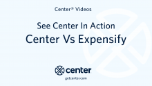 Center vs Expensify